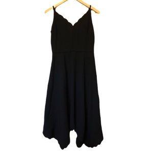 Ted Baker London Simbah Scalloped Midi Dress